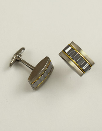 Tungsten Cufflinks