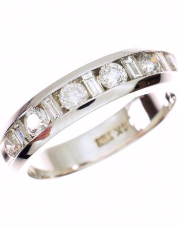 Estate Diamond Wedding Band