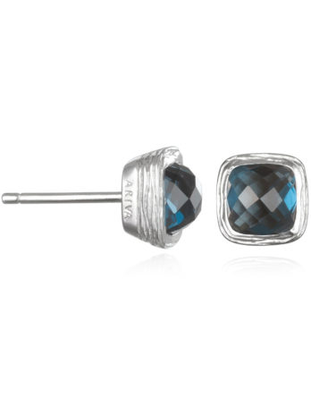 Ariva Fine Jewelry Silver Gemstone Earrings
