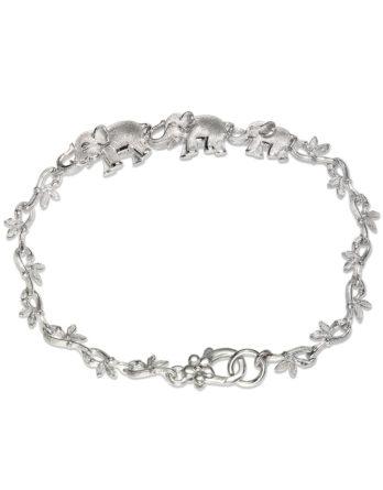 Ariva Fine Jewelry Sterling Silver Elephant bracelet