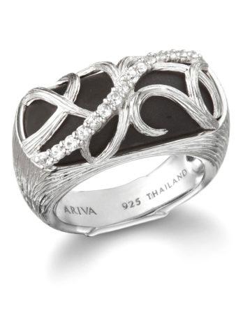 Ariva Fine Jewelry Black Onyx Ring