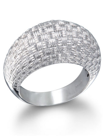 Ariva Fine Jewelry Silver Dome Ring