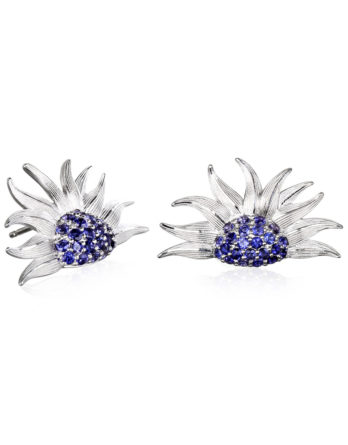 Ariva Fine Jewelry Silver Iolite Earrings