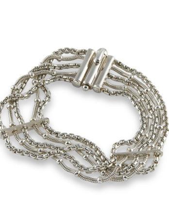 Zina Sterling Silver Bracelet