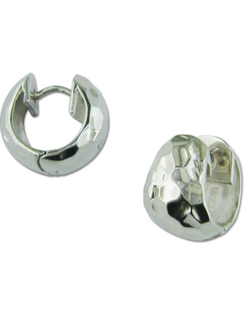 Zina Sterling Silver Hoop Earring