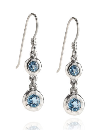 Zina Sterling Silver Drop Earrings