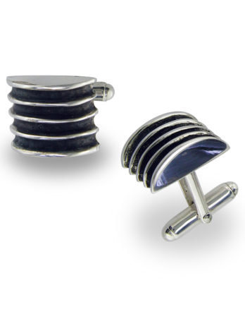 Zina Sterling Silver Cufflinks