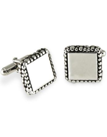 Zina Sterling Silver Cufflinks