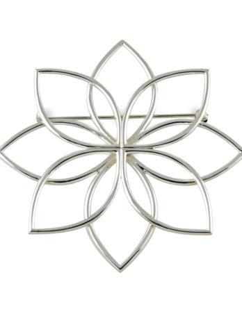 Zina Sterling Silver Pin