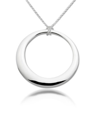 Zina Sterling Silver Necklace