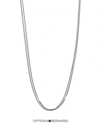 Officina Bernardi Sterling Silver Necklace